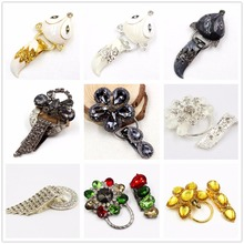 15122120 ,1 pcs, very beautiful fashion Fur buttons, coat buttons. Rhinestone buttons. Platypus glass with a diamond buckle.(China)
