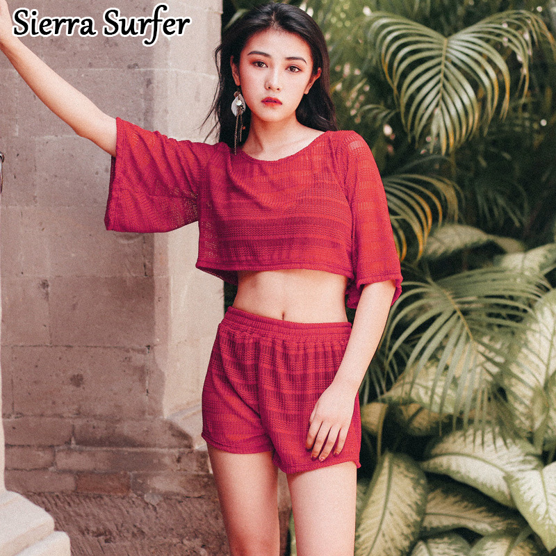 Swimming Suit Women May Beach Swim Wear Surf Retro Beachwear 2018 Deer Swimsuit Summer New Hollow Comfort Woman Underwire<br>