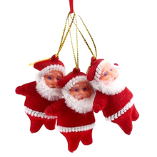 1 Piece Mini Santa Claus Christmas Tree Hanging Decoration Xmas Ornament Art Decor Pendant adorno de navidad - Smarter Life Store store