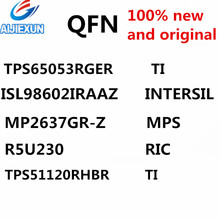 10Pcs 100% New and original QFN {TPS65053RGER TI} {ISL98602IRAAZ INTERSIL} {MP2637GR-Z MPS} {R5U230 RIC} {TPS51120RHBR} in stock(China)