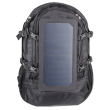 Adult Youth Solar Backpack Usb Charge Women Men Double Shoulder Rechargeable Backpack Support Drop Shipping Recruitment Agent(China)