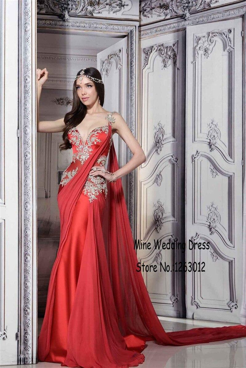 Индийское вечернее платье