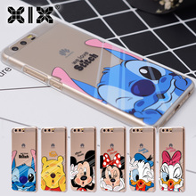 For Huawei P9 lite case Pink cover for Huawei P8 lite case 2017 fashion for Huawei P10 Plus Mate 9 Honor 6A 6X 8 Nova 2 case