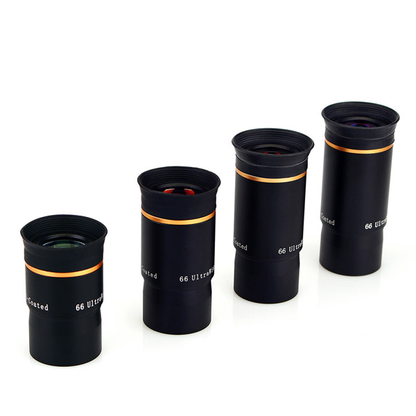 LAIDA FMC 1.25 Eyepiece Kit 66-Degree Ultra Wide 691520mm (4)