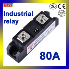 Factory supply 80A Industrial Solid State Relay SSR-H380ZF