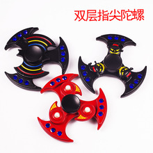 Buy HOT double bearing alloy fingertip gyro anti stress toys spiner finger spinner fidget spinner hand spinner autism ADHD for $4.92 in AliExpress store