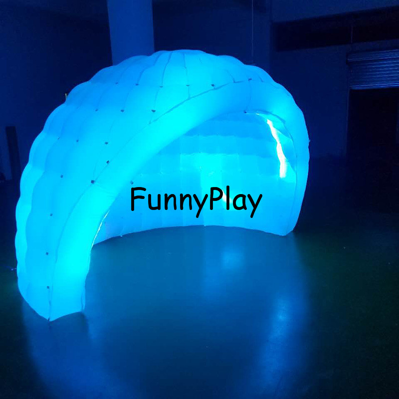 inflatable igloo tent shelter3