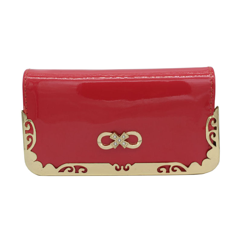 001 women wallets 16.5*8.5*3cm fashion Practical wallet phone package Bow metal lace multifunction wallet <br><br>Aliexpress