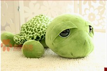 stuffed animal cute tortoise plush toy 20cm green turtle with big eyes doll about 7 inch toy p0080(China)