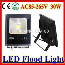 CE certificated Ultra Bright 30W LED Flood Light Solar AC/DC12V-24V  Security Light Flood Lamp Outdoor Garden Spotlights
