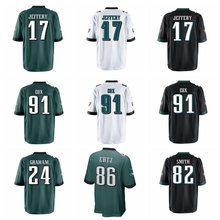 Philadelphia Men's Brian Dawkins Corey Graham Torrey Smith Carson Wentz Alshon Jeffery Fletcher Cox Zach Ertz Game eagles jersey(China)