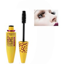 Makeup Mascara Ink 3D Fiber Lengthening Black Head Mascara Eye Makeup Waterproof Thick Colossal Mascara Curling False Eyelashes