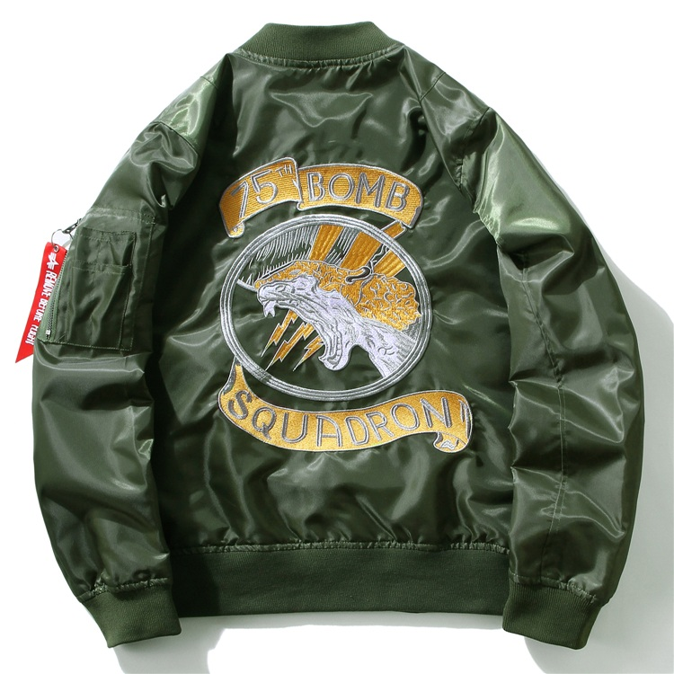 Embroidery Dragon Bomber Jackets 5