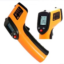 Infrared Thermometer Digital LCD Non-contact Forehead Surface food thermometer(China)