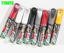 Car scratch repair pen, auto paint pen for 207 508 3008 307 206 407 408 Peugeot ,free shipping(China)