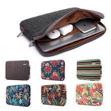 Fashion Bohemian Design Laptop Sleeve Bag for Macbook Air Pro Retina 11 12 13 15 Inch Laptop Cover for Mac book Air Sleeve Case(China)