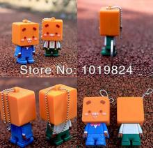 usb stickBest qualityusb key Real Capacity spuare head man USB Flash Drives 2GB/4GB/8GB/16GB/32GB Gifts USB Memory Stick S6(China)