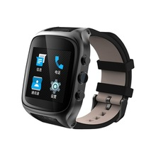 X01S Android Smartwatch Phone Bluetooth Smart Watch 1.3GHz Dual Core IP67 GPS Watch Cam 1G 8G Heart Rate 600mAh 3G WiFi