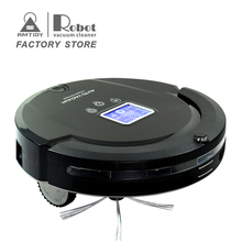 Amtidy Home Appliances Black Color Auto Cleaning Robot Vacuum Cleaner(China)