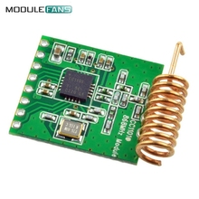 CC1101 Wireless Module Long Distance Transmission Antenna 868MHZ M115 For FSK GFSK ASK OOK MSK 64-byte SPI Interface Low Power