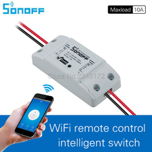 2017 New Sonoff Remote Control Wifi Switch Smart Home automation/ Intelligent WiFi Center for APP Smart Home Controls 10A/2200W