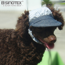 Striped Blue Pet Dog Hats Dogs Sports Sun Hats Pet Supplies Breathable Baseball Dog Caps Cat Dog Accessories 1PCS/Lot