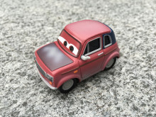 KK01--Original Pixar Car Movie 2 1:55 Justin Partson Metal Diecast Toy Cars New Loose