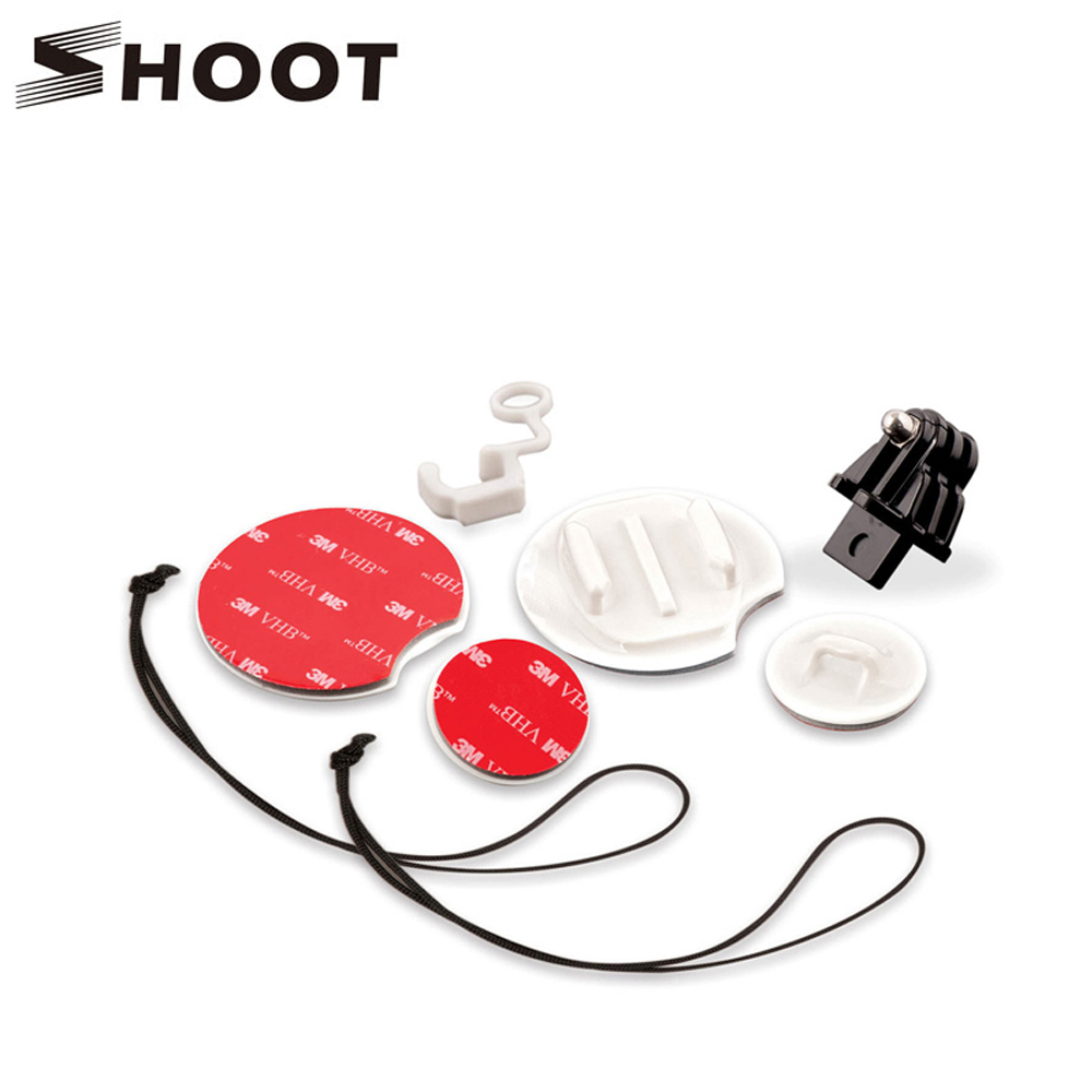 Gopro Surf Mount Accessories Surf Pack Tethers Surfboard Mounts For Gopro Hero 5 2 3 4 Session Hero5 SJCAM Xiaomi yi 4K Camera<br><br>Aliexpress