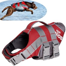 DogHelios Summer Dog Coats Splash-Explore Outer Performance 3M Reflective/Adjustable Buoyant Dog Harness and Life Jacket