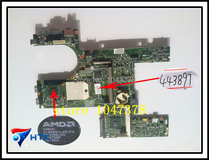 Wholesale  6515B 6715B 6715S 443897-001 Integrated Motherboard for HP 100% Work Perfect<br><br>Aliexpress