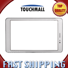 For Huawei Mediapad T1 8.0 S8-701U Replacement Touch Screen Digitizer Glass with Frame 8-inch White For Tablet