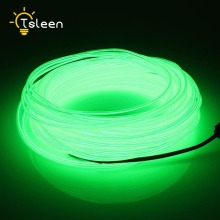 TSLEEN AA Battery Power LED Strip 2 3 5M LED light EL Wire Tube Rope Flexible Neon Light Car Party Wedding Decor With Controller