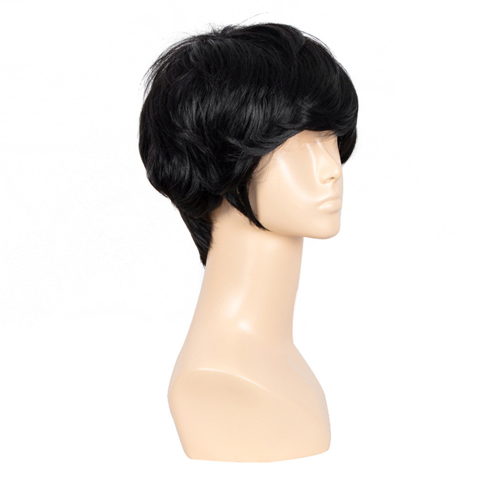 1pcs  Men Cosplay Party Costume Hair Full Wig fashion men Short Hair Sexy Boys Male Wig Free Shipping<br><br>Aliexpress