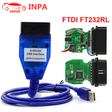 For BMW INPA with Switch FTDI FT232RL Chip INPA K+ DCAN Ediabas Auto OBD2 Diagnostic Interface USB cable For BMW Scanner(China)