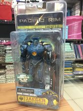 NECA Pacific Rim Jaeger ROMEO BLUE / Tacit Ronin / Horizon Brave / Gipsy Danger PVC Action Figure Collectible Model Toy(China)