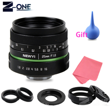 Buy 25mm F1.8 APS-C Manual Camera Lens+C Mount Adapter+Macro Rings Kit Sony E Mount NEX 3N 5 5R 6 7 A6300 A6000 A5100 A5000 for $58.00 in AliExpress store