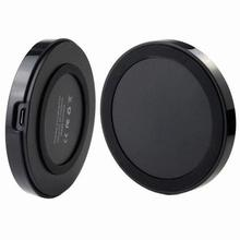 Qi Wireless Charger Power Bank Pad for iPhone 4 4S 5 Samsung Galaxy S3 S4 S5 note 3 Nokia Nexus Black charger device dock