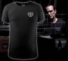 Marvel Agents of S.H.I.E.L.D. Shield T-shirt Shirt Movie Tops Cosplay Costume Men's Casual O-neck Cotton t shirt