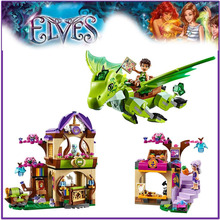 The Secret Market Place 41176 Building Block Model Toys for Children BELA 10504 Compatible Lepin Elves Figures Set(China)
