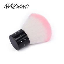 NAILWIND Nail Soft Brush Cleaner Acrylic and UV Gel Polish Manicure Nail Arts Dust Cleaning Brush Tools(China)