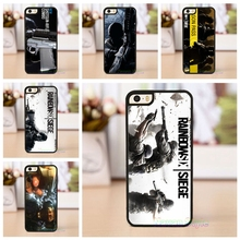 Rainbow Six Siege Operation Black Ice case cover for iphone 4 4s 5 5s se 5c 6 6 plus 6s plus 7 7 plus #ZL115