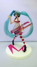 Mifen Craft Anime Sailor moon Hatsune Miku Greatest Idol Ver. Electric Guitar PVC Action Figure Collection Model Kids Sexy Toy
