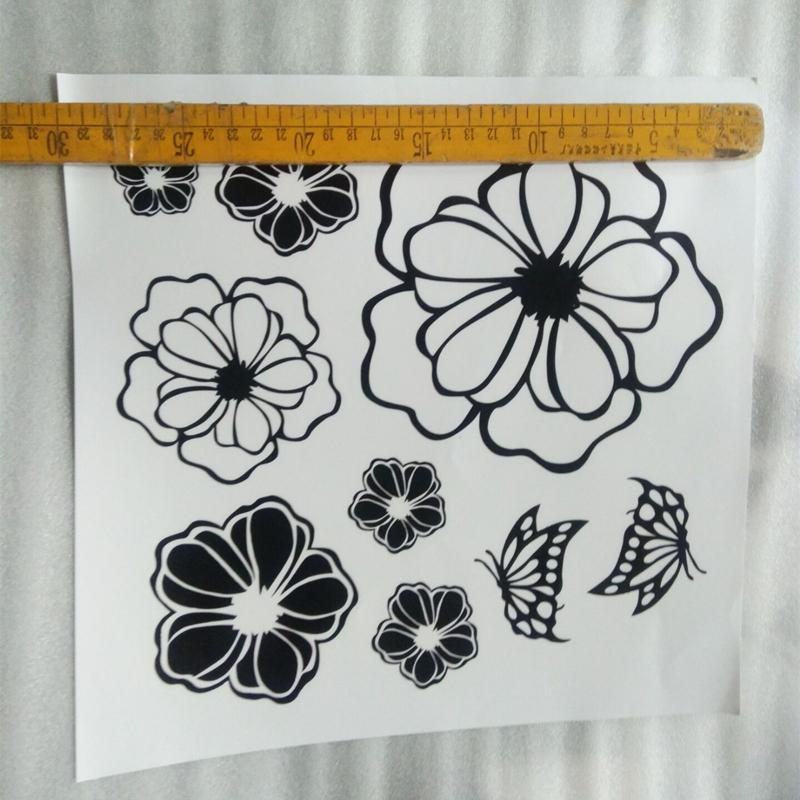 HTB1.FjsgWAoBKNjSZSyq6yHAVXaG - High Quality Household Washing Machine Refrigerator Stickers Flowers Butterflies Wall Stickers Home Decor For Kitchen Bathroom