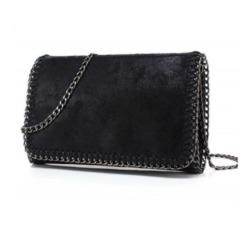 YESIKIMI Women Falabellas bag Crossbody Bag Shiny PU Leather Purse Chain Stella Bags Luxury Brand Clutches Bolsos<br><br>Aliexpress