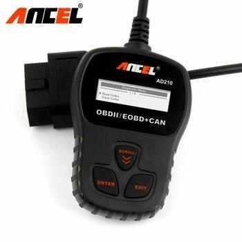 OBD2 Coche Escáner De Diagnóstico Universal Ancel AD210 OBD Escáner Lector de Código de Error Automotivo Escaner Herramienta de Diagnóstico para Los Coches