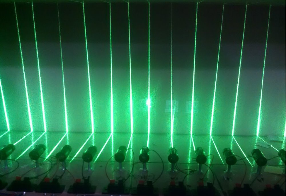 5mW CW green laser module Line laser beam, for laser level and laser locator<br><br>Aliexpress
