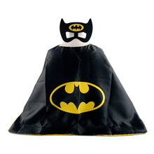 1cape+1mask cloak kids superhero capes boy children superman batman spiderman halloween baby costume cosplay super hero mask
