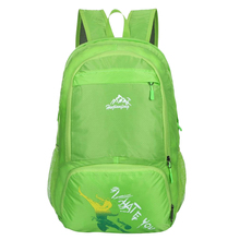 Hot Fashion HU WAI JIAN FENG 35L Traveling Waterproof Light Weight Folded Backpack Portable Lover Package Green