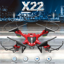 Buy NEW X22 professional RC Drone 2.4GHz 6 Axis Gyro white RED Remote Control quadcopter helicopter kids toy can HD camera for $59.40 in AliExpress store