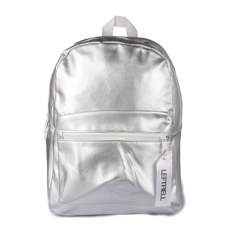Hot 2017 Fashion Women Backpack Casual Travel Bags Preppy Style Silver Pink Backpacks School Bags pu leather mochila feminina<br><br>Aliexpress